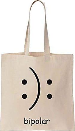Prints Canvas Cotton Bag Tote Smiley Bipolar Finest QrCxWdBeo