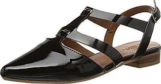 Shoe Ouvert black Femme Open Noir Mam16 10 Eu Sandales Slingback 36 Bout Bianco xOEzqwY4q