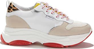 Serafini Large Sneakers à Semelle BrowklinBlanc beige y8Nn0wmOv