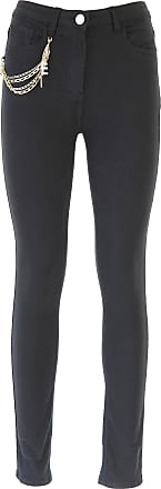 40 On Elisabetta Sale Black Jeans Cotton Franchi 2017 wCq0OB