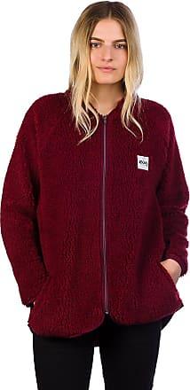 Jacket Eivy Wine Fleece Sherpa Redwood trAqt