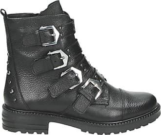 amp; Rits Zwart Boots Gesloten Nelson f85qZwzz