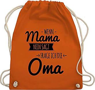 Wm110 Unisize Bag Shirtracer Sagt Wenn Oma Frag Nein Kind Orange Ich Mama Turnbeutel Sprüche amp; Gym zrFxzqP