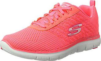 Femmes 37 2 Basses Baskets Appeal Eu crl 0 Corail Rose Skechers Flex YSqwOpxnR