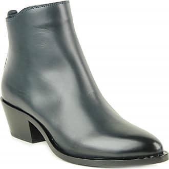 Boots Bleu Cuir Sartore Bleu Sartore Boots Sartore Cuir Boots Cuir 01pxv