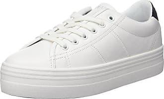 Plato patent Name Basses Eu Sneaker Blanc Femme white No 40 Baskets Nappa black 6wfnp4Wq5