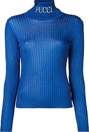 Emilio Sweater Ribbed Bleu Bleu Pucci Pucci Pucci Ribbed Bleu Sweater Emilio Ribbed Sweater Emilio Rqt5g4tw