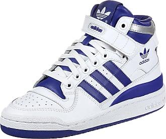 Blanc Gr J 5 Eu 35 Bleu Adidas Chaussures Femmes W Mid Forum 1WqRwYa