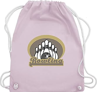 Bowling Rosa Kegeln Unisize Gym Old Shirtracer Pastell amp; Bag School Turnbeutel Wm110 dxwq0qXF