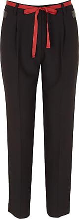 Haute Ceinturé Maraboutée Crêpe En Pantalon La Droit Fée Taille TqfFf1