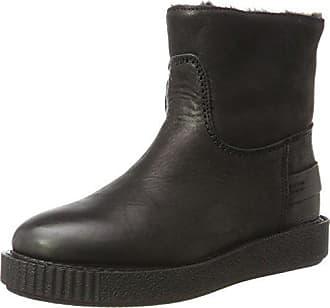 Para Plisadas Negro Amsterdam 0001 Botas 42 Eu Mujer Shabbies black Pwq1CaSH