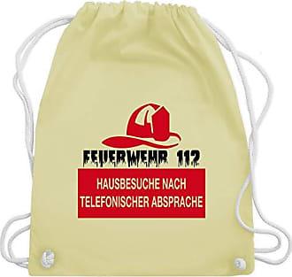 Telefonischer Feuerwehr Gelb Absprache Wm110 Nach amp; Turnbeutel Bag Hausbesuche Gym Unisize 112 Shirtracer Pastell A1qIFdwF