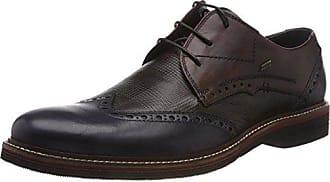 812535021111 Para 46 Eu De Zapatos Derby Hombre 4111 Cordones dark Daniel Hechter Grey Azul Blue Yq5wf