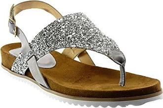 a14c5e47d21f26 5 Glitzer Damen 2 S92 Cm spange Tanga T String Schuhe Keilabsatz Sneaker 37  flops T ...