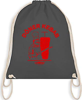 Unisize Wm110 Logo Statement Bag Dunkelgrau ShirtsOriginal Turnbeutelamp; Kebab Shirtracer Gym Döner 76yYbIfgvm