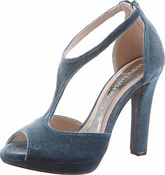 Blau Guido Jeansblau Angesagter Sandalette Maria Samtoptik In Kretschmer Top wwCr0q