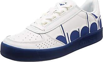 bianco Unisex C1938 Gymnastikschuhe Eu B Mehrfarbig erwachsene 41 Diadora elite Cobalto blu Bolder vqnp60qdRx