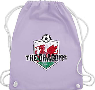 Pastell Wales Fußball Wm110 Unisize Turnbeutel Dragons Shirtracer Gym Lila Bag amp; The Vintage xqYwwR5f