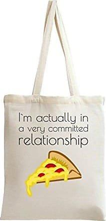 Slogan Tote A Actually Im Relationship Bag In Very Styleart Commited 6018xqx