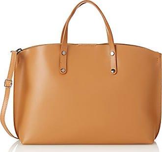 Cm 47 Borse Orange Damen Chicca Handtaschen cuoio XFzY88n