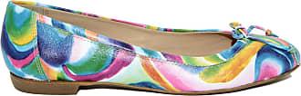 Cuir Ballerines Multicolores Eye En Rita EOndnqgw