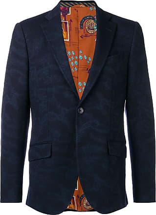 Stampato Blazer Etro Colore Di Blu PPwq56ZW