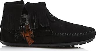 Franges En Boots Minnetonka Plumes Daim Et Iwq51rdq