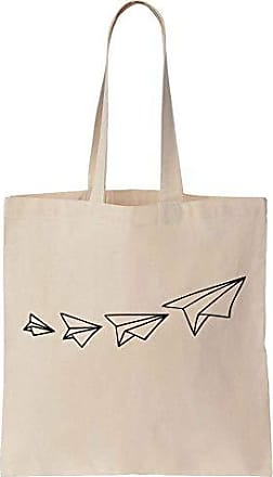 Cotton Flying Tote Planes Bag Upwards Prints Paper Of Canvas Bunch Finest A 7Y8fFqB
