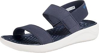 Sandal Blk Literide Crocs Komfort W sandalen whi Blau Blau FZqxx5wBv