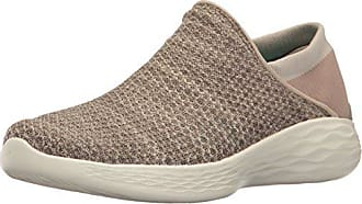 Eu Beige Femme Skechers 40 You Baskets taupe Enfiler tS0I0p