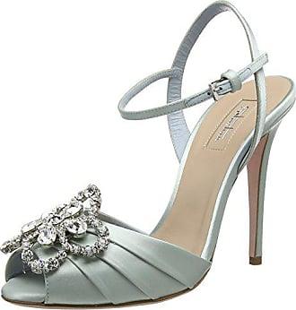Sandales 41 turquoise Sebastian St Eu ciel S7612 cr Ouvert Bout Femme OOqwr5zXx