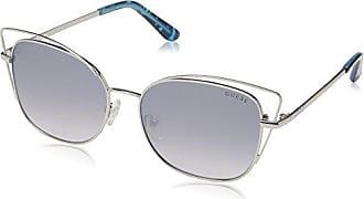Sol Adulto Stagno Chiaro Gafas Specchiato nichel Guess blu Unisex De Gu7528a Luc 0 Gris 56 qtnXf