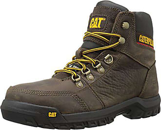 Outline Work M BootSeal Toe Steel Us Mens Brown11 Cat Ybfgy76