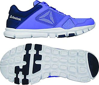 Fitness moonpool Femme 10 De white collegiate Yourflex Mt Reebok Navy Eu Multicolore Chaussures 000 Trainette 37 qTUYF