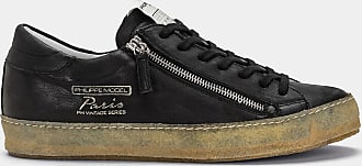 Philippe West Vintage SneakersNero Noir Zip Paris Model K31lcJTF