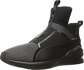 5 6 Womens M Puma Cross Us Shoe Fierce trainer Knit Black d0zwx8zqC