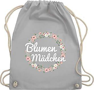 Shirtracer Hellgrau amp; Unisize Blumenkranz Gym Kinder Turnbeutel Anlässe Bag Wm110 Blumenmädchen Hn6H1wAqR