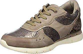 349 Braun taupe 23706 Damen Tozzi 37 comb Sneaker Marco Eu Ant wx8IRX