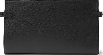 Pebble grain Valextra Travel Black Wallet Leather YH51xZ