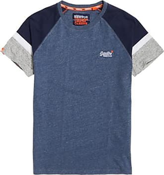 à Superdry Baseball shirt Engineered Courtes T De Manches nZIItHxw