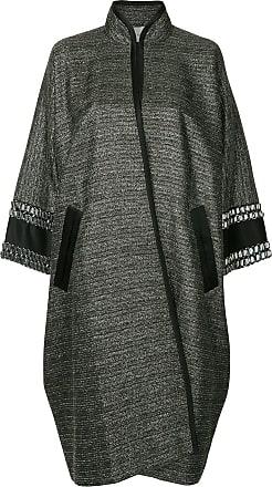 Métallisé Single Metallic Coat Breasted Layeur ZT0xwT