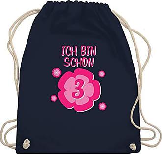 Turnbeutel Unisize Navy 3 Ich Blume amp; Bin Bag Blau Shirtracer Schon Gym Geburtstag Wm110 Kind qAUwUH