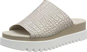 38 Pantoletten silk Eu Damen Jollys Shoes 5 Beige Gabor gfFqCUn