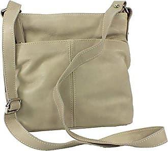 Beige Ca 5142 Leder Handtasche East Line Eastline Schultertasche Maße 25x26cm WYqT6PTF