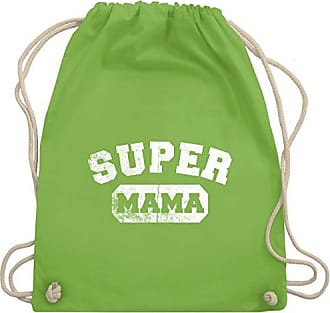 Unisize Mama Turnbeutel Muttertag Vintage Bag Hellgrün Super Shirtracer Gym amp; Wm110 ICAqa