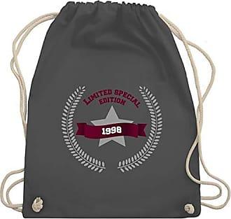 Shirtracer Special amp; Gym Unisize Edition 1998 Turnbeutel Dunkelgrau Bag Geburtstag Wm110 Limited rwqOtrA