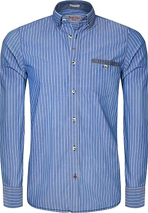 Patriot Liebe Zum Rugged Detail Mit Signum Blau Blue Streifenhemd x1w0qa5zC