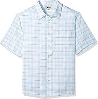 Haggar Herr och Microfiber stor Stor skjorta kortärmad vit vatten lång  still vävd gfqrgdw eb689fcc544ee