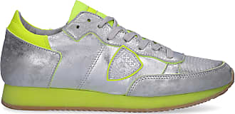 Silber Tropez Patch Sneaker Logo Kalbsleder Model Low Philippe nwaqxZ4q