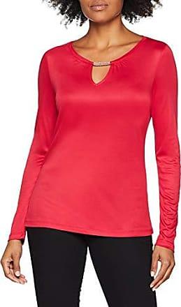 11 Camiseta 3537 Label 8311 Rojo S Red Manga 809 Mujer 31 De Para Larga Black oliver hot 40 t41wBU